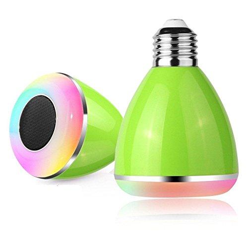 Light Bulb Rings light bulb appliance Hot Selling RGB Color Light Bluetooth 4.0 Smart LED Bulb Music Audio Speaker light bulb ring ceramic Green by Light Bulb Rings