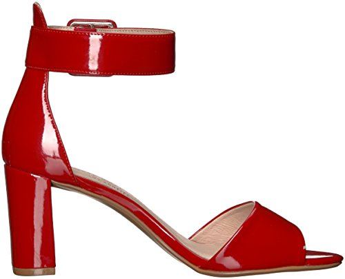 Rumor Sandalia Patente de tacón Laundry mujer rojo Chinese de 7qxHwF55U