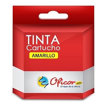 Cartucho de tinta Oficor T1304 Amarillo genérico compatible con ...