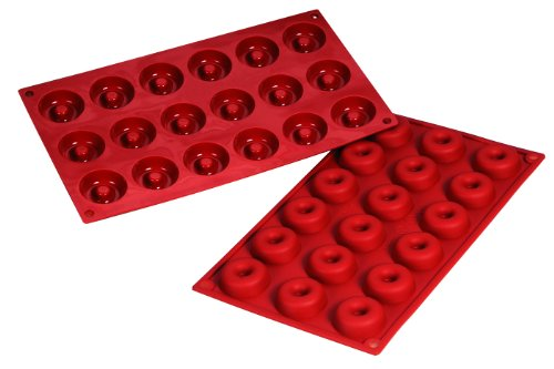 Fat Daddio's Silicone Bakeware Savarin Mold, 0.61 Ounce by Fat Daddios