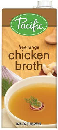 Pacific Foods, Free Range Chicken Broth (Pack of 2)