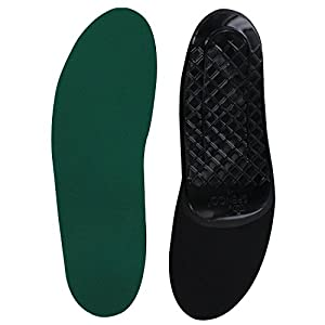 Spenco Rx Orthotic Arch Support Full Length Shoe Insoles, Women's 11-12 / Men's 10-11