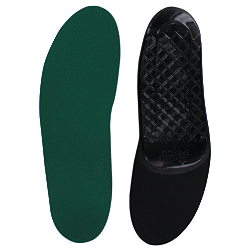 Spenco Rx Orthotic Arch Support Full Length Shoe Insoles, Women's 9-10 / Men's (Orthotic Full Length Leather Shoe)