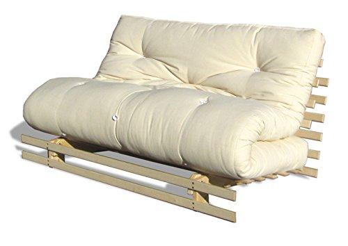 Divano Letto Futon.Cinius Divano Letto Futon 140x200cm Modello Toronto Con Materasso Futon
