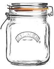 Kilner Kilner Clip Top Glass Storage Jar Square