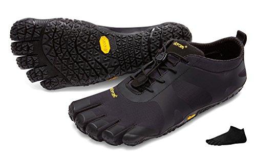 nbsp;chaussures « Noir V De Fivefingers alpha » noir Avec Chaussettes Homme Pour Vibram Orteils Randonnée Pieds À Nus 1qftn
