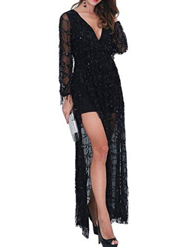 long black new years dress - 7