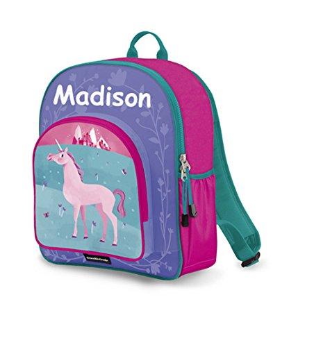 Personalized Crocodile Creek Kids Unicorn School or Travel Backpack - 14 Inches