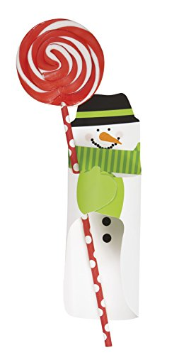 Snowman Holiday Candy Bar Wrappers, 8ct