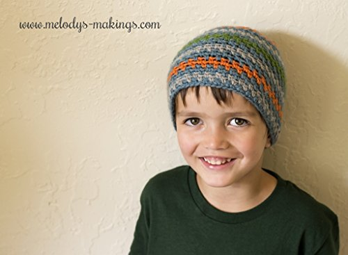 (Sprightly Beanie Crochet Pattern - All Newborn, Baby, Child, Teen, and Adult Sizes)