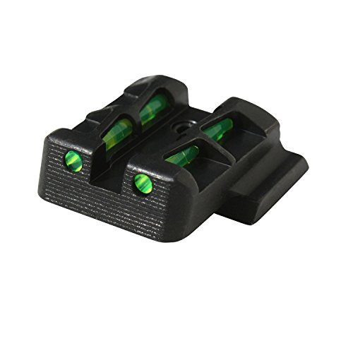 (HIVIZ GLLW19 Interchangeable LITEWAVE Rear Handgun Sight for Glock 45 ACP/10mm/45)
