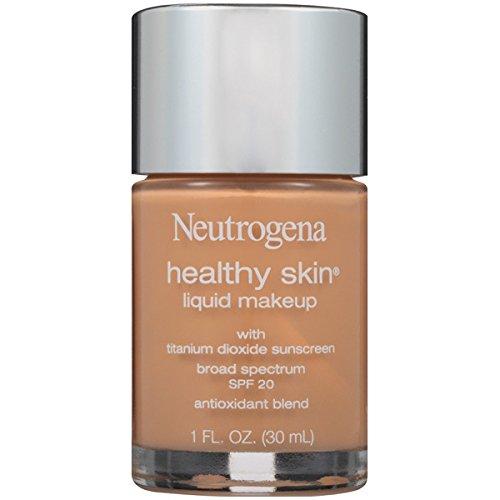 Neutrogena Healthy Skin Liquid Makeup, SPF 20, 105/Caramel, 1 Fluid (Spf 20 Caramel)