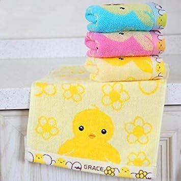 Bearony Suave 4pcs Patos patrón de algodón Absorbente Toallas Toallas Toallas de baño Conjunto: Amazon.es: Hogar