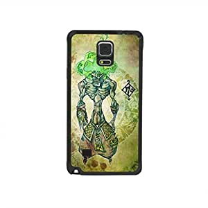 CaseCityLiu - Claw Chinese Zombie Myth 3D Design Black Bumper Plastic+TPU Case Cover for Samsung Galaxy Note4