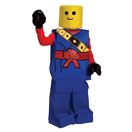 Dress Up America Halloween Kids Toy Block Ninja Man Costume Outfit Blue ()