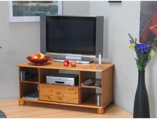 dynamic24 Madison - Mueble esquinero para televisor con cajón y 5 compartimentos: Amazon.es: Hogar