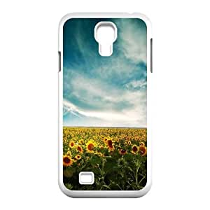 Sunflower Samsung Galaxy S4 9500 Cell Phone Case White as a gift O6742621