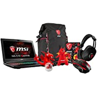 MSI GT62VR DOMINATOR PRO-238 15.6 Gaming Laptop: i7-7700HQ (Kaby Lake), GTX1070 8G GDDR5, 16GB DDR4, 256GB SSD + 1TB HDD, VR Ready, Windows 10 + Gaming Bundle