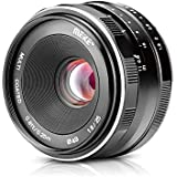 Meike MK 25mm f/1.8 Large Aperture Wide Angle Lens Manual Focus Lens Canon EOS-M Mount Mirrorless Cameras