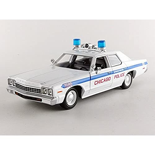 Greenlight Blue Brothers Chicago Police Dodge Monaco 1/24 Hollywood Séries V1