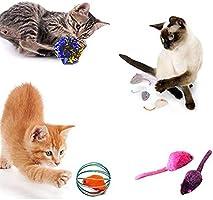 Juego De Juguetes para Gatos, Varita Teaser Retráctil para Gatos ...