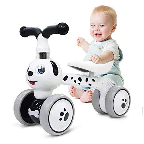 Ancaixin Baby Balance Bikes 10-36 Month Children Walker | Toys for 1 Year Old Boys Girls | No Pedal Infant 4 Wheels…