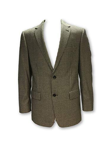 Structured Jacket in Black and WHI Size 40R Cashmere ()