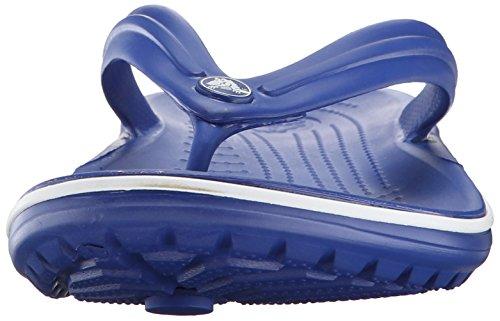 Crocs Infradito Unisex In Coccodrillo Ceruleo Blu / Bianco