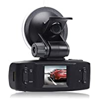 Top Dawg Electronics GPS DVR Dash Camera (Black)