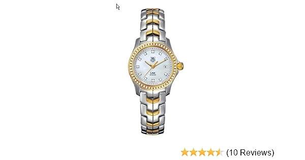 9e9962d1c93f Amazon.com  TAG Heuer Women s WJF1354.BB0581 Link Two-tone Quartz Watch  Tag  Heuer  Watches