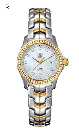 a267d660d00f Image Unavailable. Image not available for. Color  TAG Heuer Women s  WJF1354.BB0581 Link Two-tone Quartz Watch