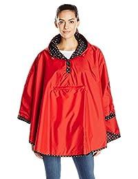 Totes Women's Reversible Rain Poncho