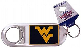 NCAA West Virginia Lucite ouvre-Bouteille Porte-cl�s Game Day Outfitters 24694
