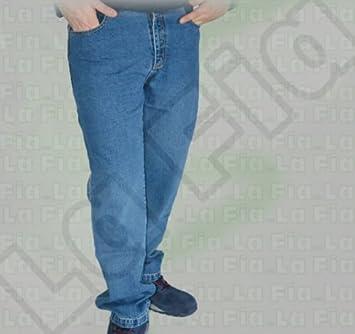 Pantalón Jeans Pantalones Multibolsillos Trabajo OBRA Job ...