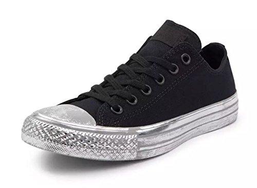 Converse Mens Sneakers Ox In Pelle Scamosciata Stella Metallizzata 9481