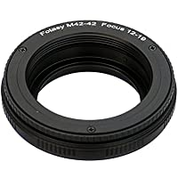 Fotasy 42mm to 42mm lens Focusing Helicoid Adapter 12mm - 19mm