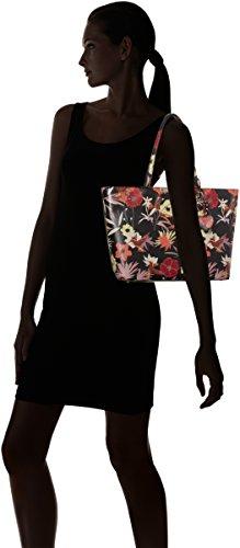 Britta Floral blk Handbag Hwff6693230 Guess Tote Shopper Women's Floral Blk Multicolour 54xqPv