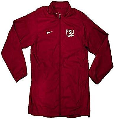 24da03c85871 Amazon.com  Nike Florida State Seminoles FSU 2016 Sideline Apparel Fullzip Windbreaker  Jacket (Large)  Sports   Outdoors