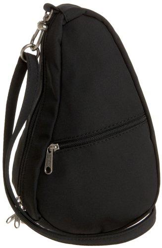 - AmeriBag Microfiber Baglett Shoulder Bag 7100,Black,one size