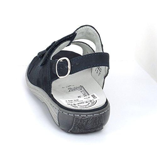 sandale Waldläufer 5 Blau G Marine 710898 Damen aqq5x7