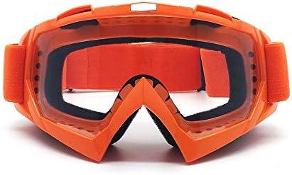 KAILLEET YY6 Outdoor-Reiten Winddichte Brille, Offroad-Motorrad-Rennbrille