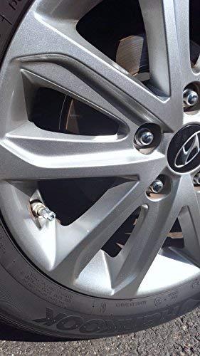 Amazon.com: Bling Car Decor - Tapones para válvula de aire ...