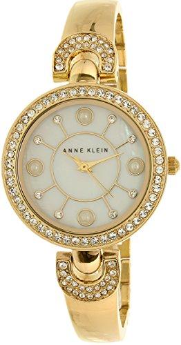 Anne Klein Women's AK/1960GBST Swarovski Crystal-Accented Go...