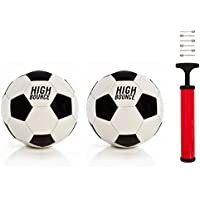 High Bounce Traditional Soccer Ball official size set of...