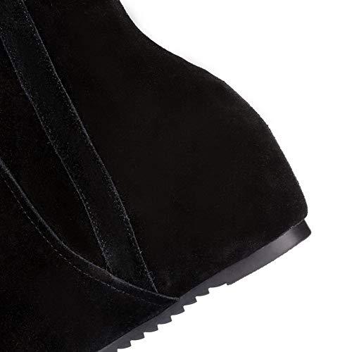 Abm13203 Compensées Sandales 36 Noir Eu 5 Noir Balamasa Femme 7xdTUHzxn