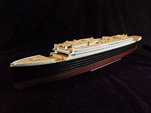 KNL HOBBY ARTWOX Academy 14214 Titanic passenger ship wooden deck AW20076 - Passenger Boat