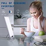TSYMO Light Therapy Lamp - UVfree 12000 Lux Full