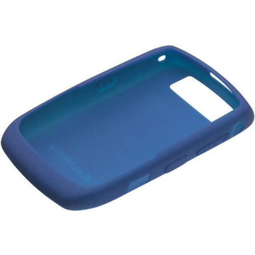 BlackBerry 8900 Skin Cover Case (Dark Blue)