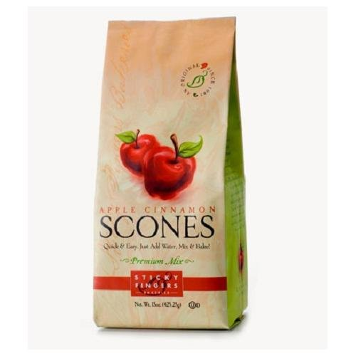 Apple Scone Mix - Sticky Fingers Bakery Apple Cinnamon Scone Mix