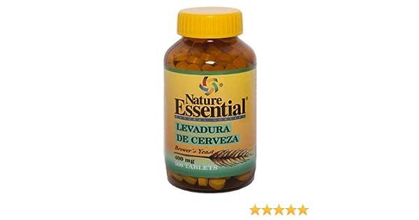 LEVADURA DE CERVEZA 400 mg 500 comprimidos: Amazon.es: Salud y cuidado personal